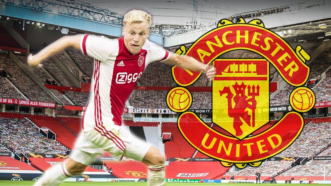 Donny van de Beek (Manchester United) - Bildquelle: Imago