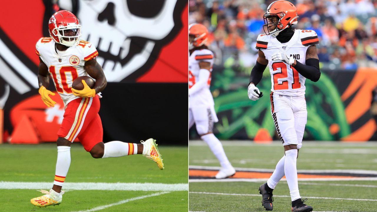 Browns at Chiefs: Tyreek Hill vs. Denzel Ward