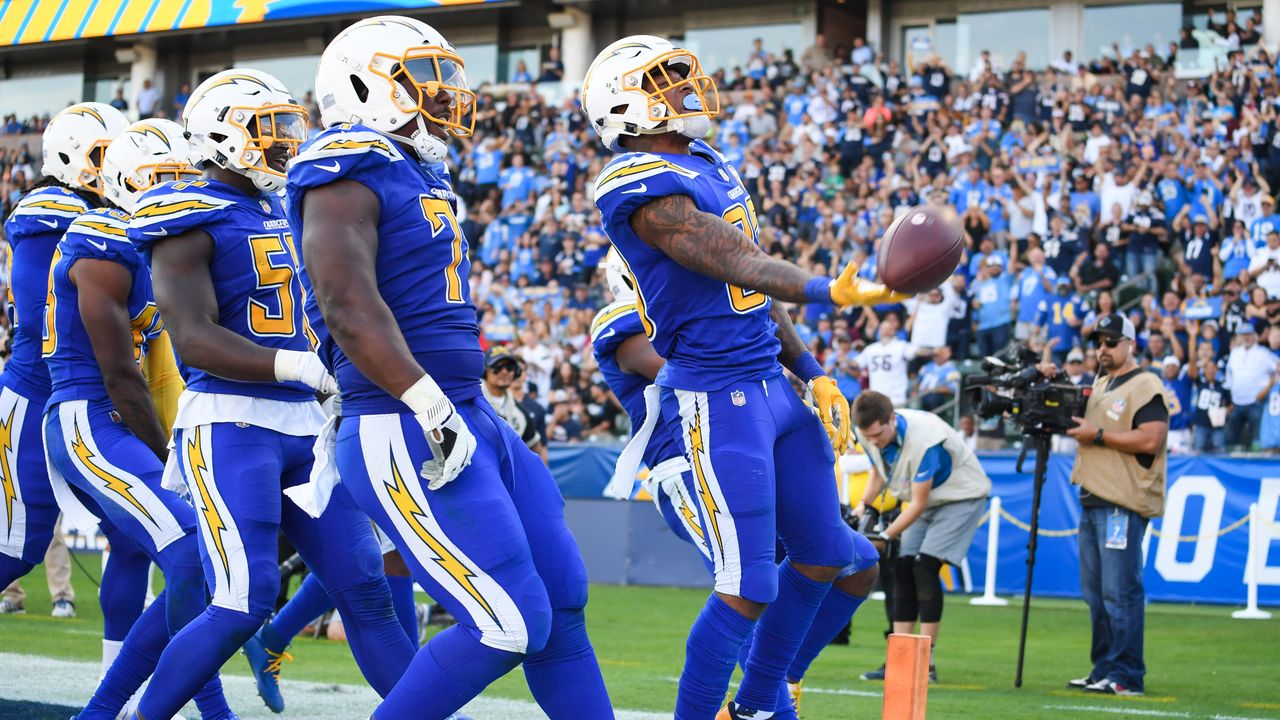 32. Los Angeles Chargers - Bildquelle: 2018 Getty Images