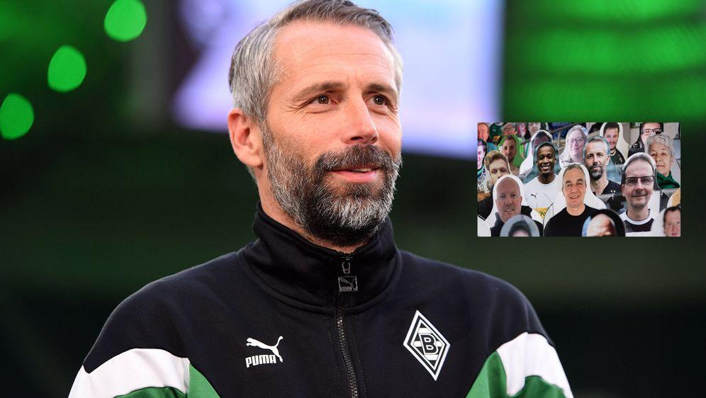 Gladbachs Trainer Marco Rose. - Bildquelle: imago images/Jan Huebner