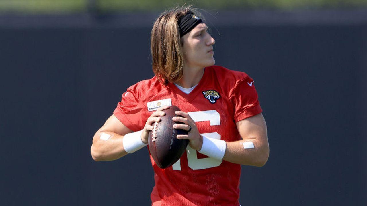Platz 2: Trevor Lawrence (Quarterback, Jacksonville Jaguars)  - Bildquelle: 2021 Getty Images