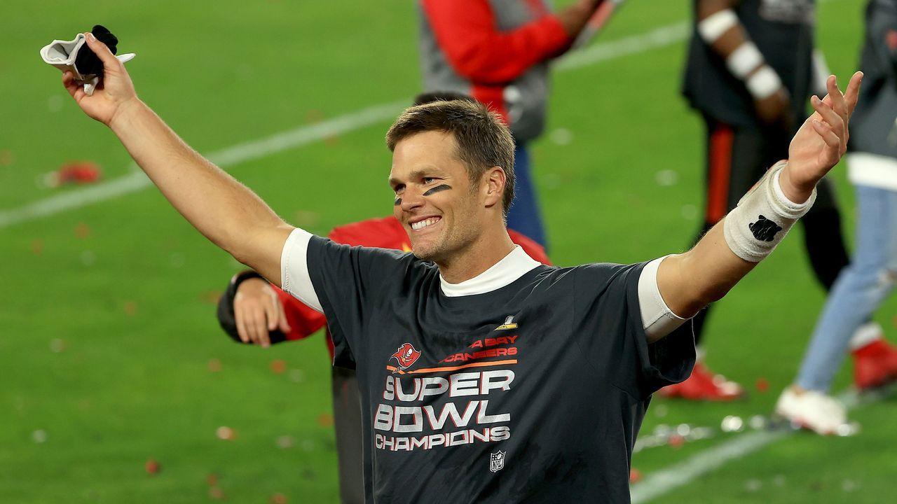 Platz 2: Tom Brady (Tampa Bay Buccaneers) - Bildquelle: 2021 Getty Images