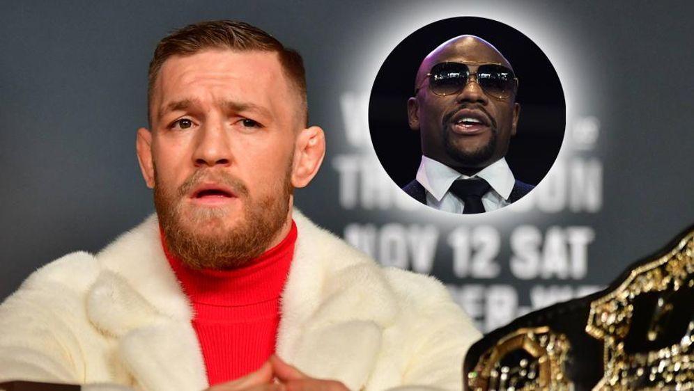 Conor McGregor (li.) und Floyd Mayweather sollen sich über ihren Mega-Fight ... - Bildquelle: imago sportfotodienst