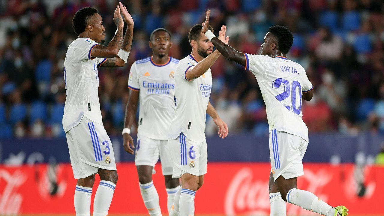 Platz 4 - Real Madrid (Spanien) - Bildquelle: 2021 Getty Images