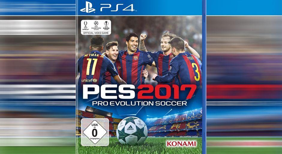 PES 2017 - Bildquelle: Konami