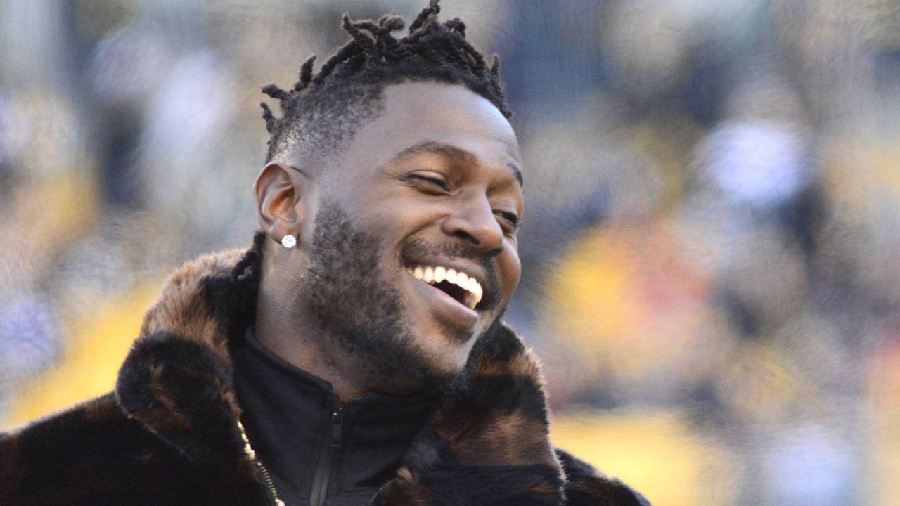 3. Antonio Brown (Pittsburgh Steelers) - Bildquelle: imago images / UPI Photo