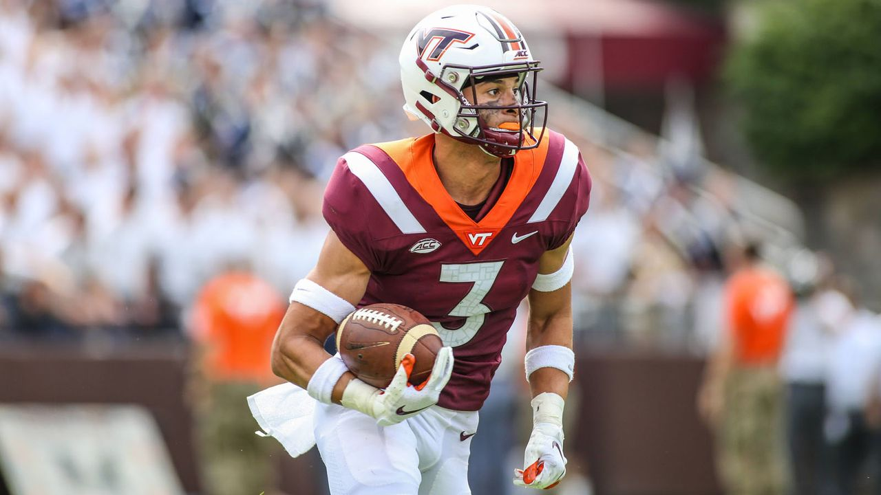 Caleb Farley (Cornerback, Virginia Tech) - Bildquelle: imago/ZUMA Press