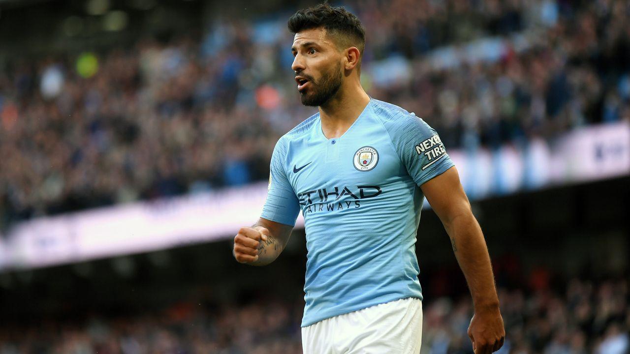Platz 6 - Sergio Agüero (Manchester City) - Bildquelle: 2018 Getty Images