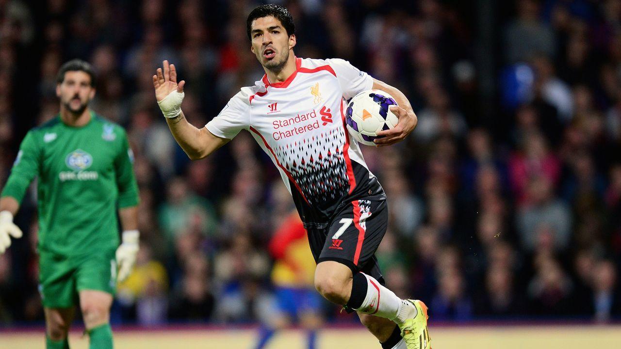 Platz 5 - Luis Suarez - Bildquelle: 2014 Getty Images