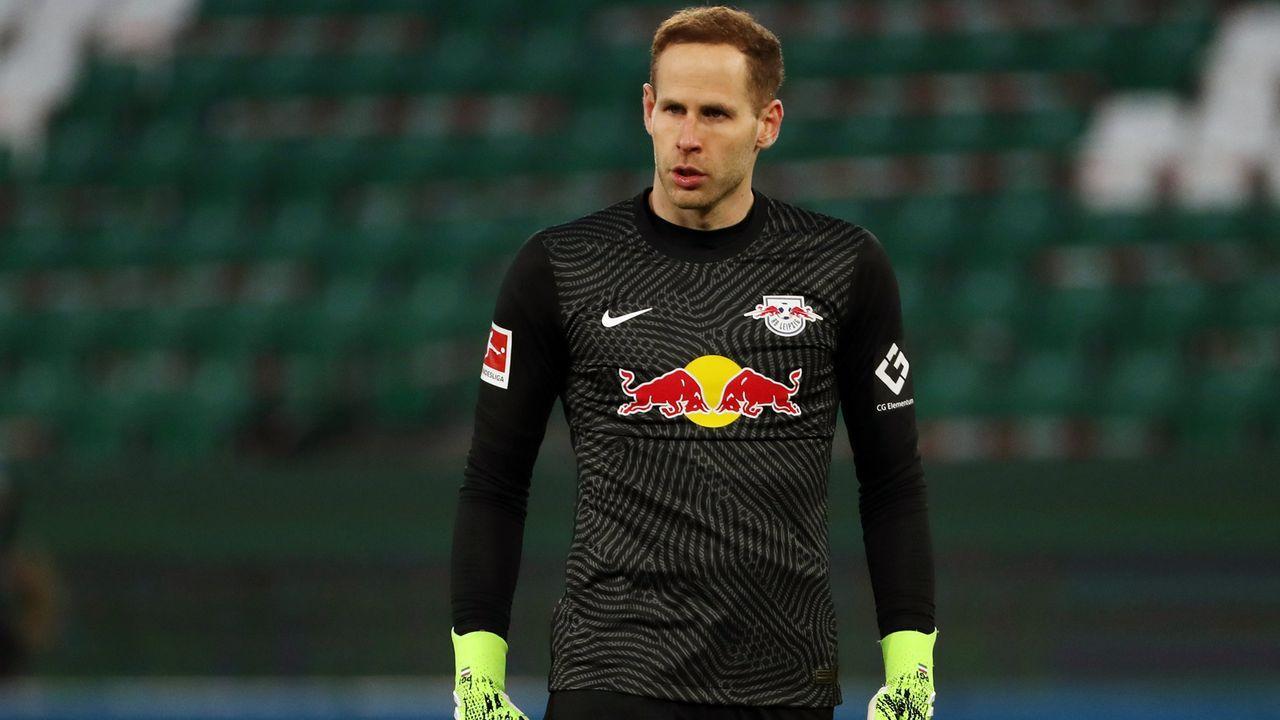 Tor: Peter Gulacsi (RB Leipzig) - Bildquelle: 2021 Getty Images