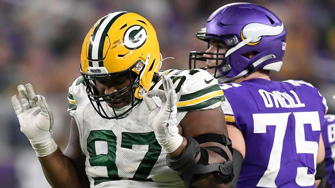 Platz 8: Kenny Clark (Green Bay Packers) - Bildquelle: 2019 Getty Images
