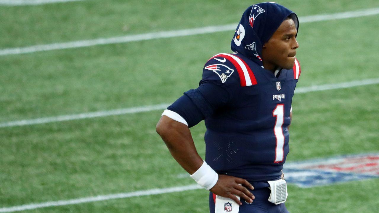 Schlechte Leistungen: Cam Newton (New England Patriots) - Bildquelle: 2020 Getty Images