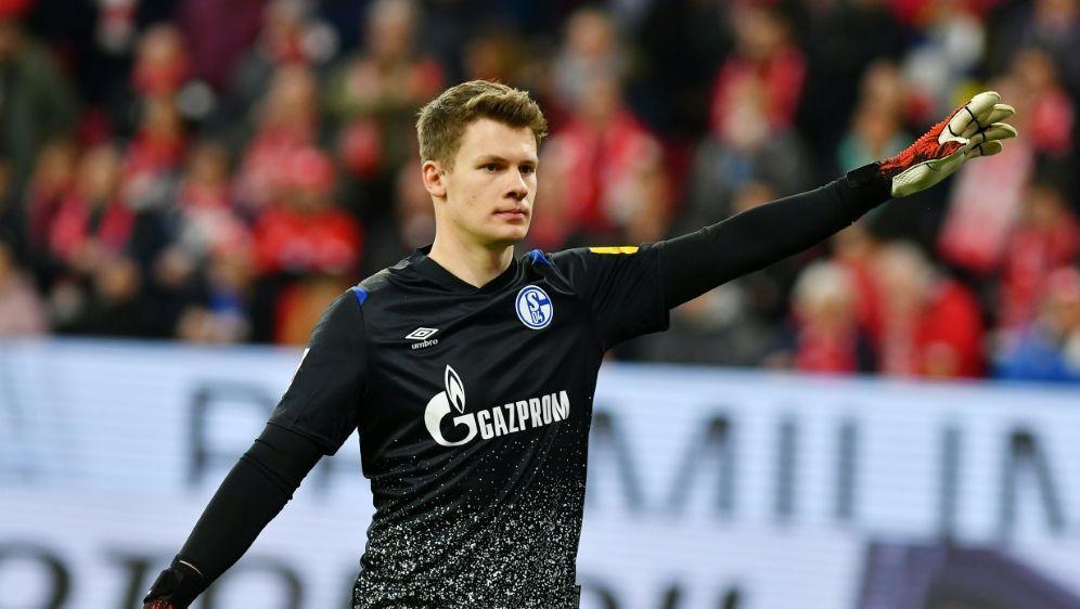 Medien: Nübel steht gegen Bremen im Tor von Schalke 04 - Bildquelle: PIXATHLONPIXATHLONSID