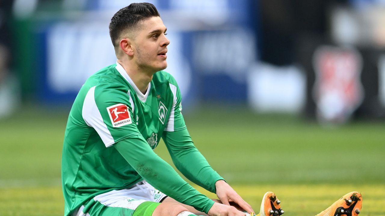 Mittelfeld: Milot Rashica (SV Werder Bremen) - Bildquelle: 2021 Getty Images