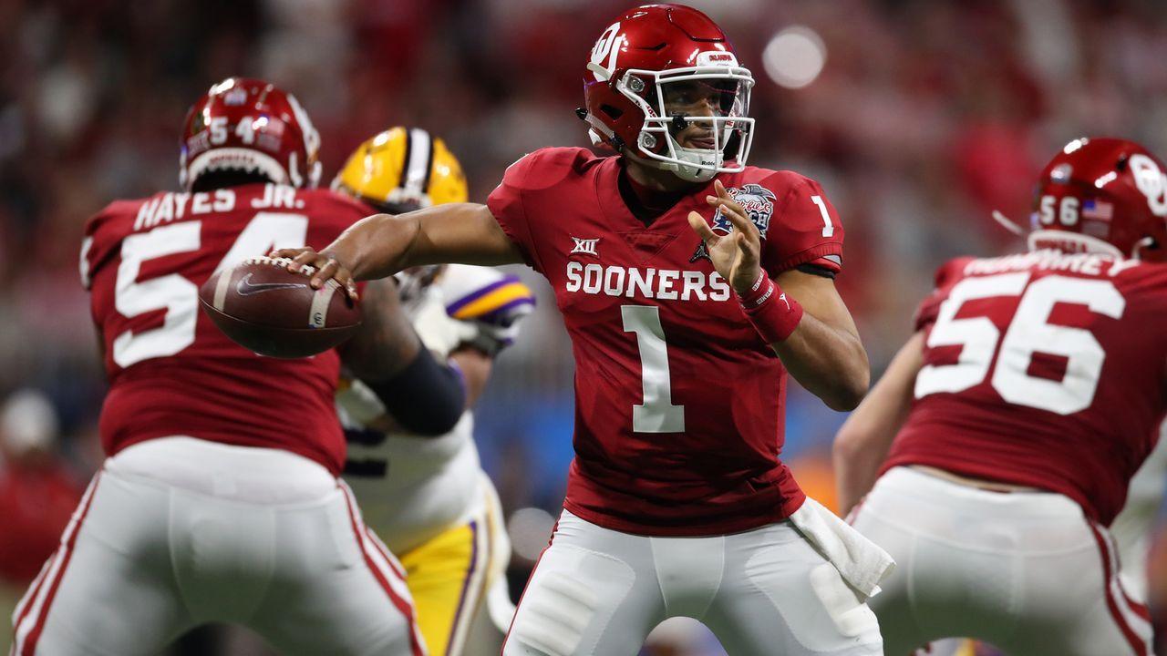 Jalen Hurts (Quarterback, Oklahoma Sooners) - Bildquelle: getty