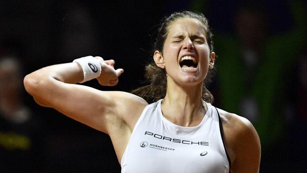 Julia Görges hat das Einzel gegen Pliskova gewonnen - Bildquelle: imago