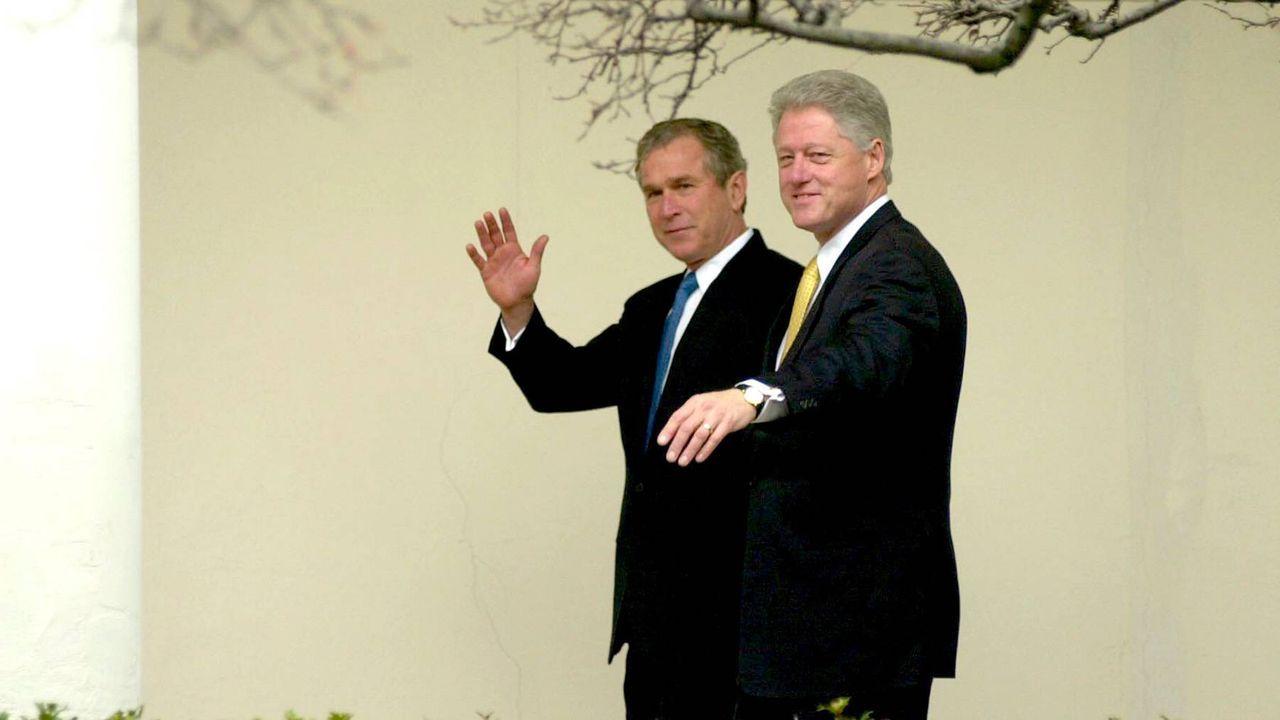 George W. Bush wird neuer US-Präsident