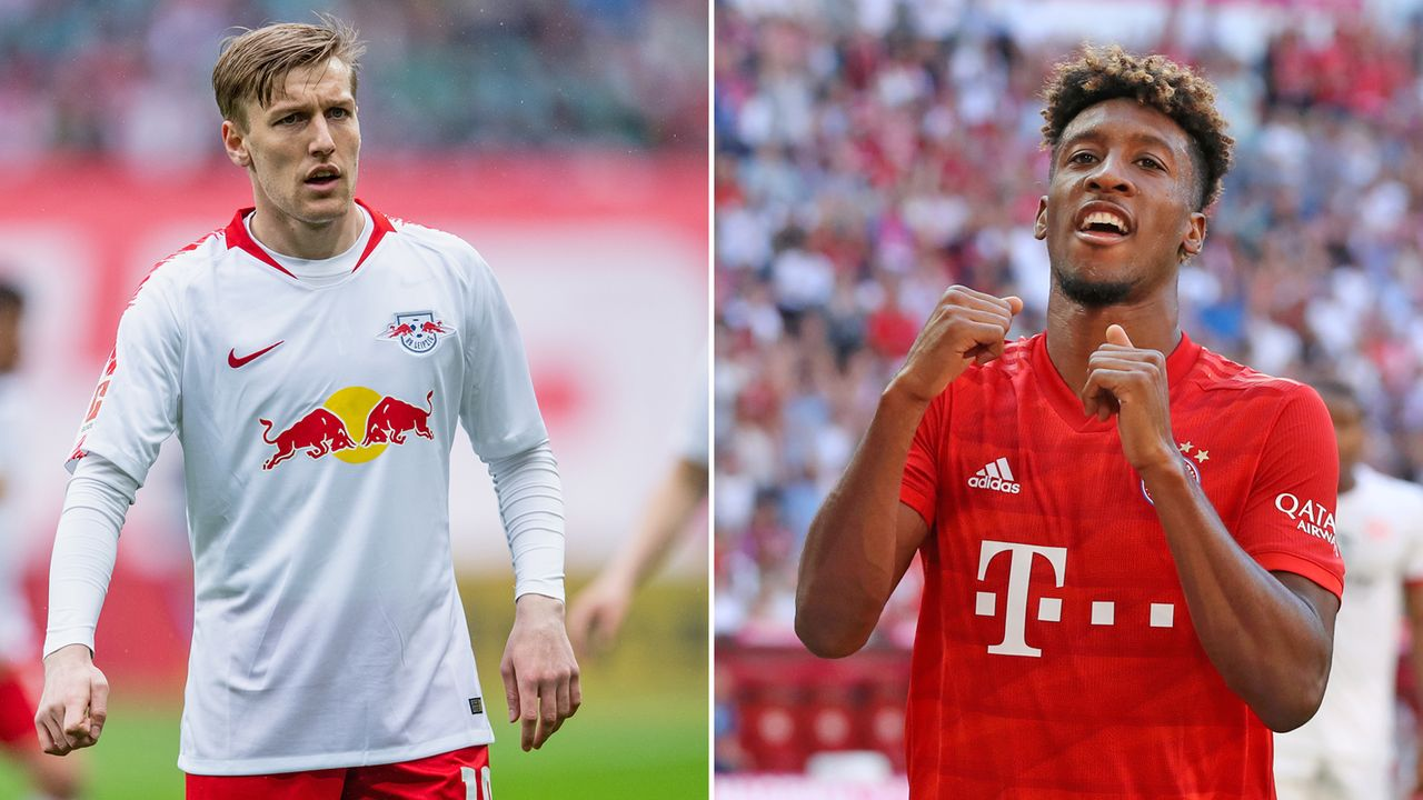 Emil Forsberg vs. Kingsley Coman - Bildquelle: 2019 Getty images