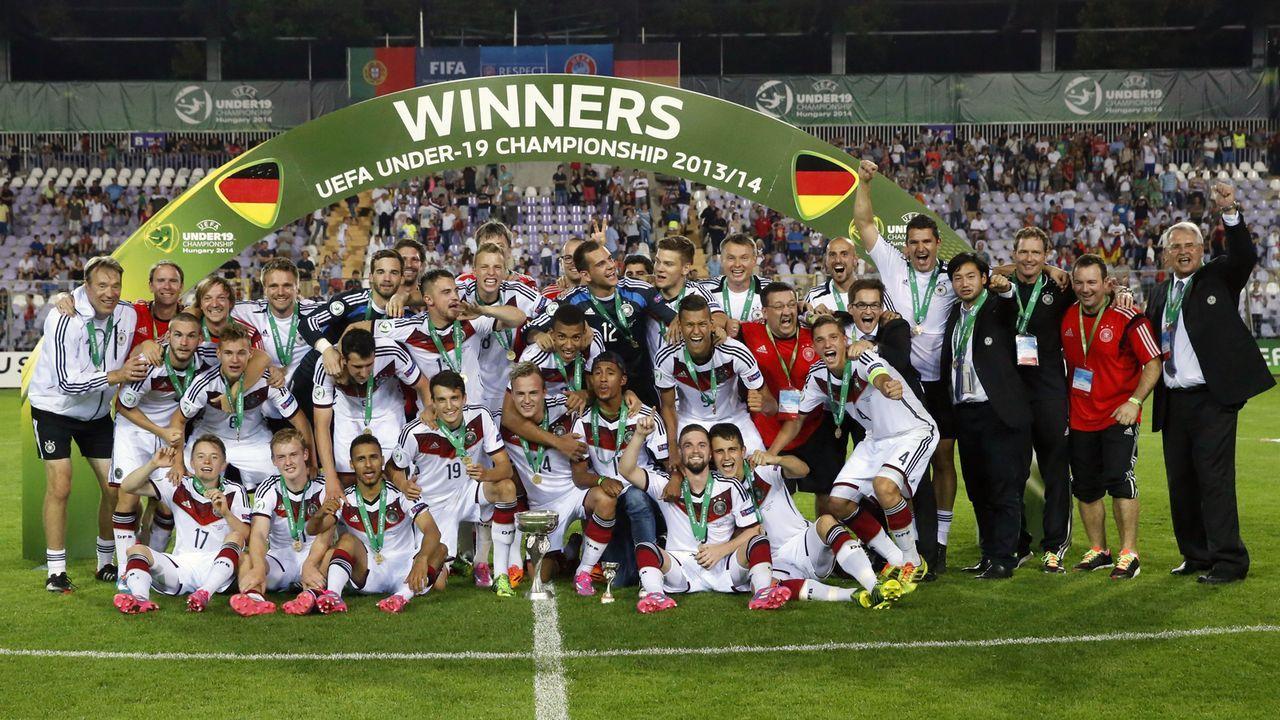 U19-Europameister 2014 - Bildquelle: imago/PuzzlePix
