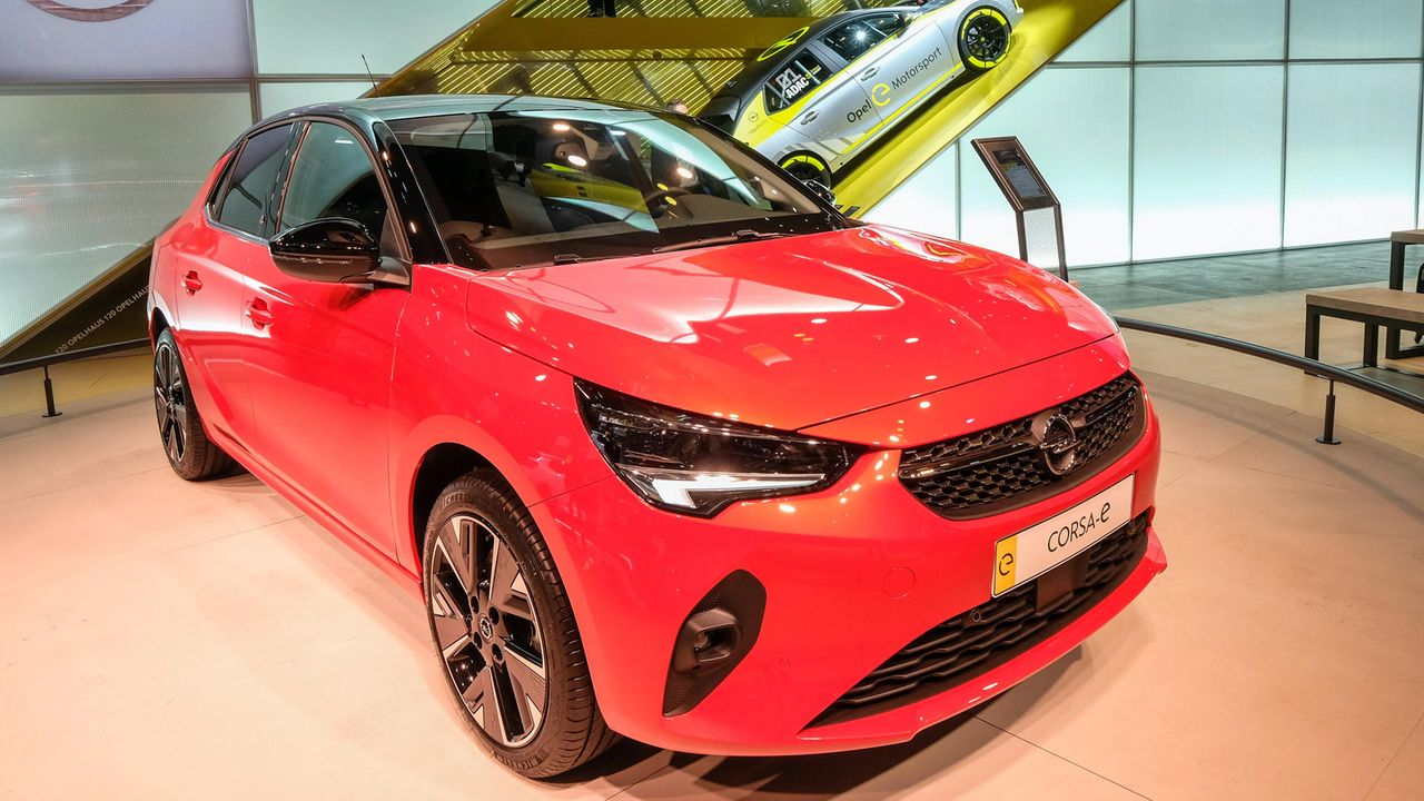 Opel Corsa-e - Bildquelle: imago images / Friedrich Stark