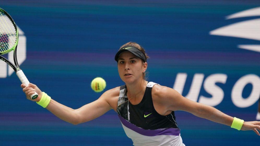 Belinda Bencic steht im Halbfinale der US Open - Bildquelle: AFPSIDTIMOTHY A. CLARY