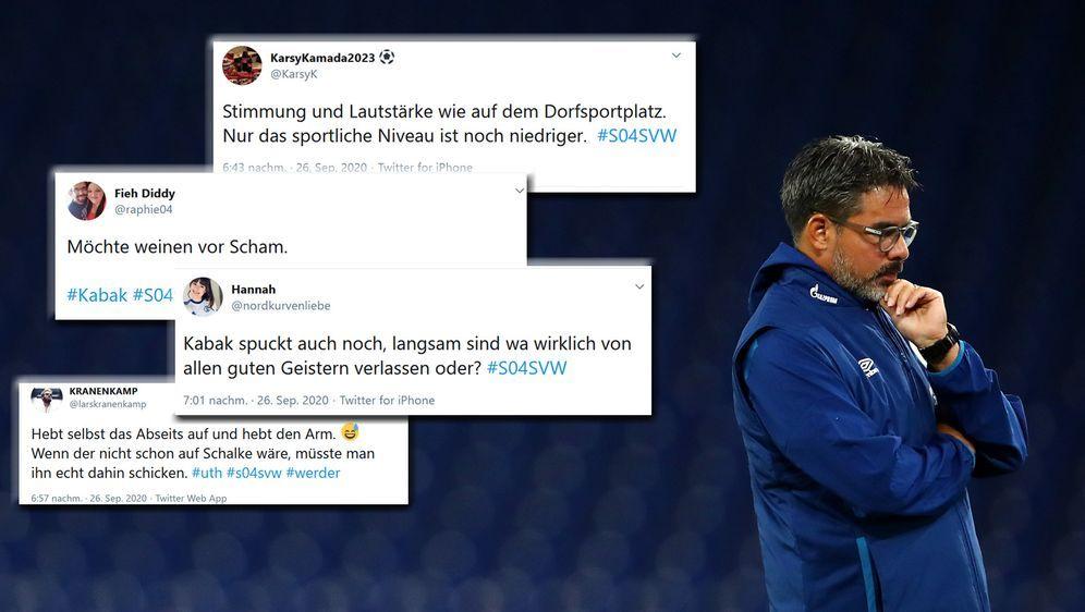 Schalke und Trainer David Wagner stehen mit dem Rücken zur Wand. - Bildquelle: 2020 Getty Images