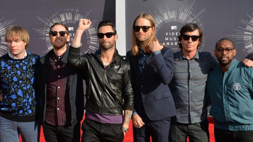 American Football Offiziell: Maroon 5 spielt beim Super
