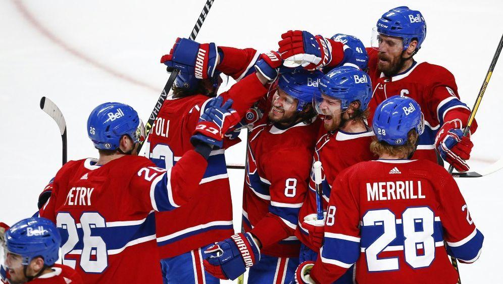 Die Canadiens beendeten ihre Durststrecke - Bildquelle: AFPGETTY IMAGES NORTH AMERICASIDVAUGHN RIDLEY