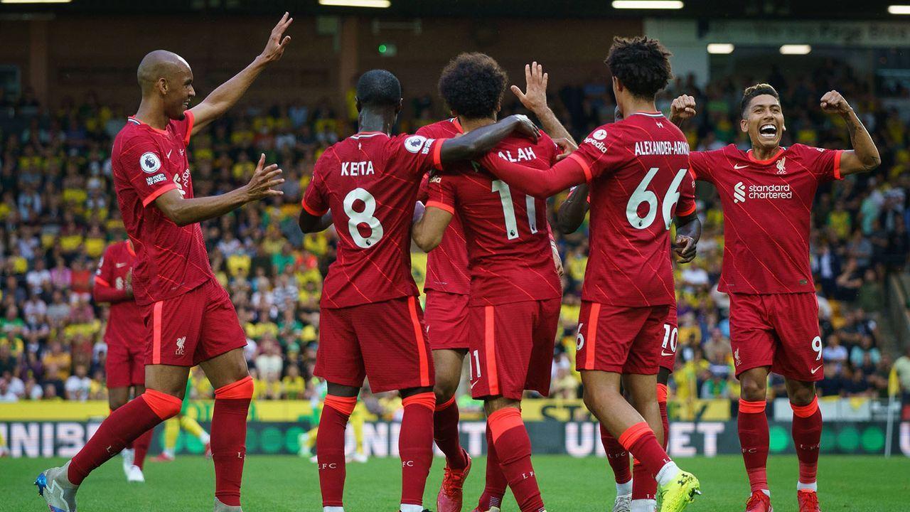 Platz 3: FC Liverpool - Bildquelle: imago images/PRiME Media Images