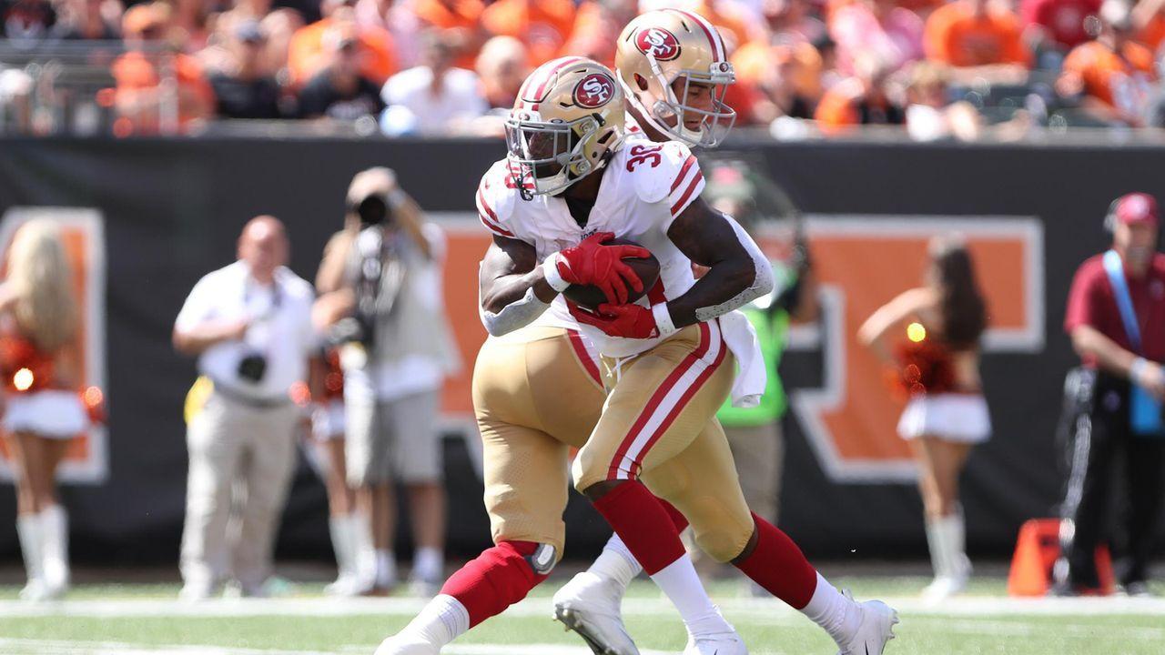 Rushing Offense: San Francisco 49ers  - Bildquelle: imago images / Icon SMI