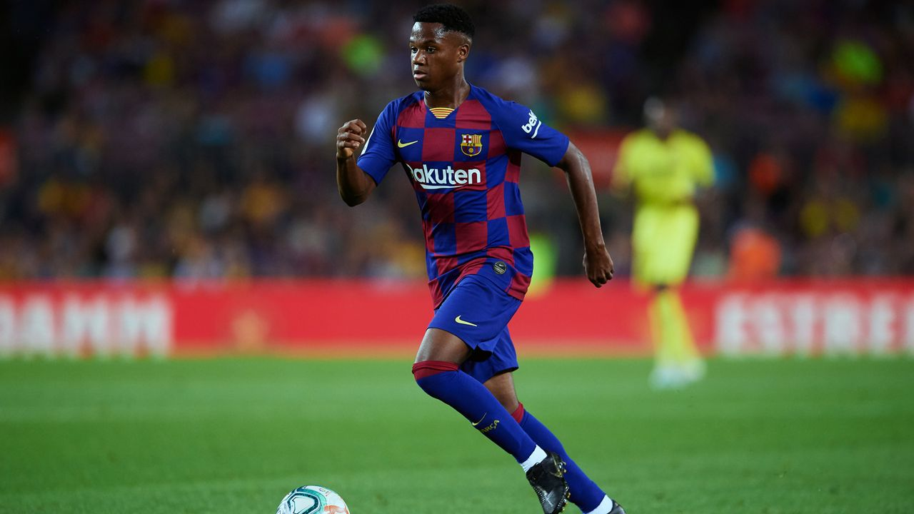 3. Ansu Fati (FC Barcelona/Spanien) - Bildquelle: 2019 Getty Images
