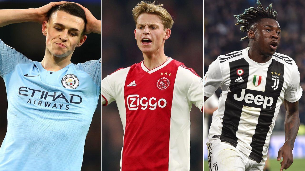 Die Top-Talente im Viertelfinale der Champions League - Bildquelle: Getty Images