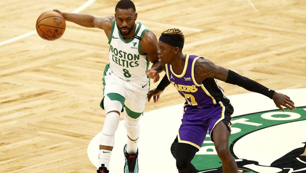 Dennis Schröder (r.) wechselt zu den Boston Celtics - Bildquelle: GETTY AFPSIDMADDIE MEYER