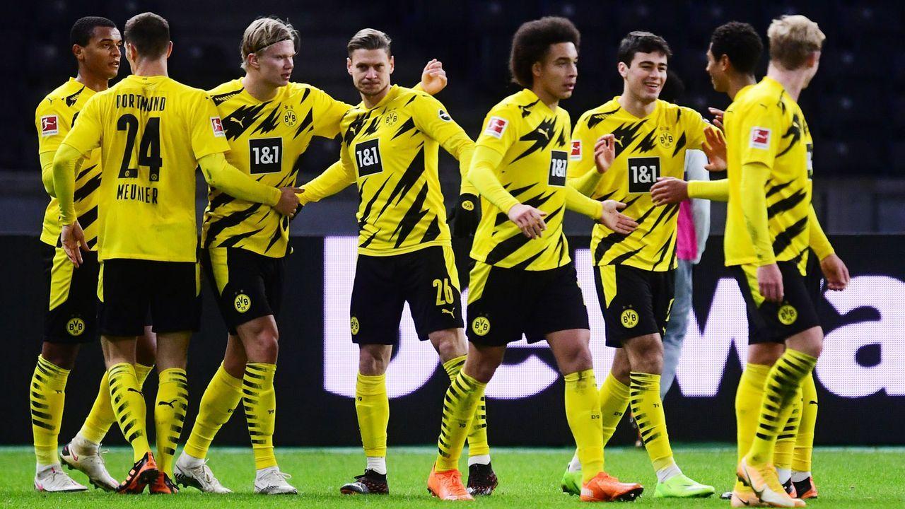 Platz 2: Borussia Dortmund - Bildquelle: Getty Images