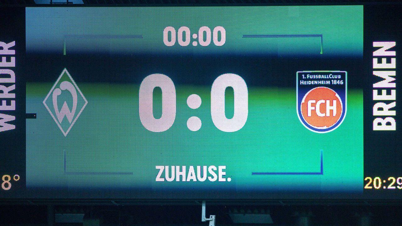 Das Relegations-Hinspiel - Bildquelle: Sascha Walther/Eibner/Pool via xim.gs
