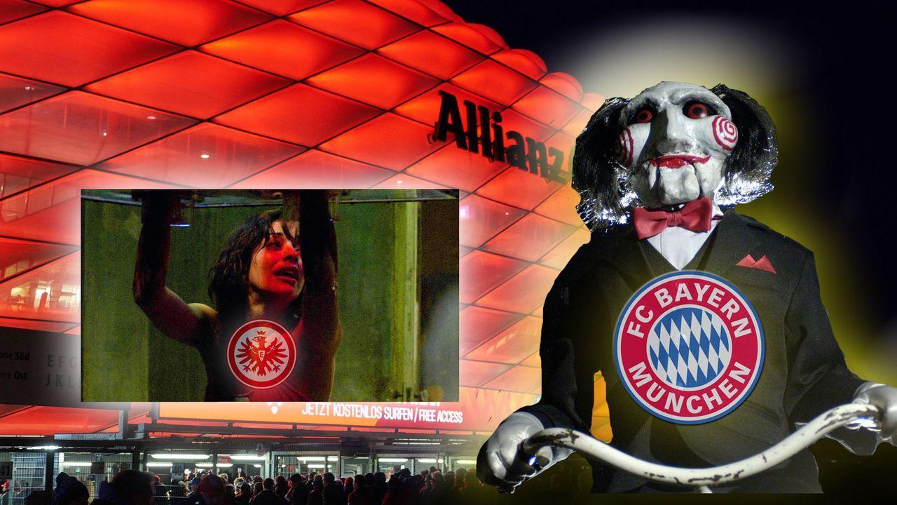 Eintracht Frankfurt mit Horrorbilanz in München - Bildquelle: imago images / ActionPictures