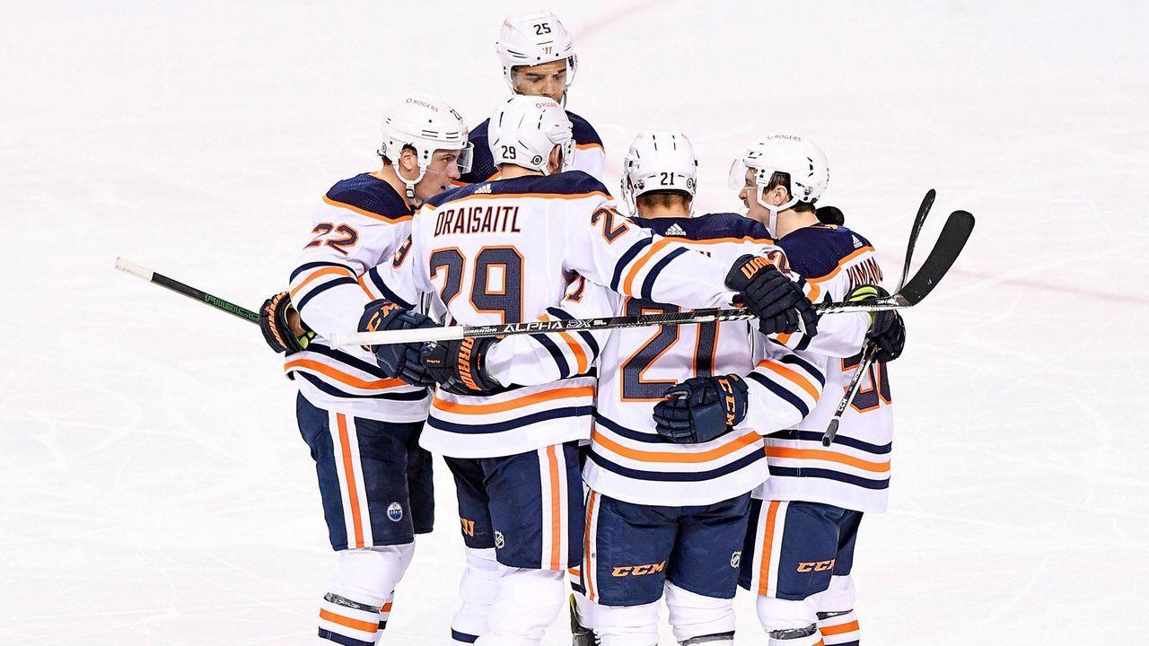 Die Form der Edmonton Oilers  - Bildquelle: imago images/Icon SMI