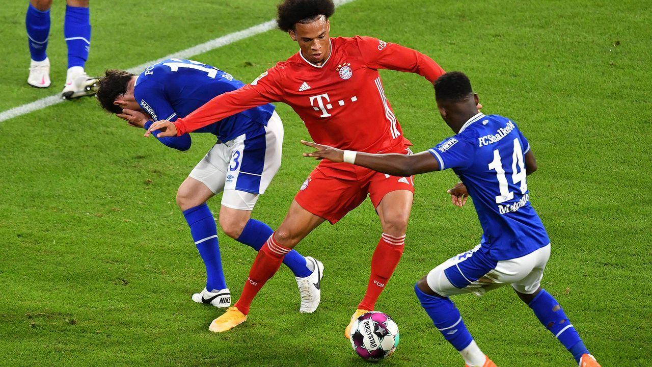 Leroy Sanes turbulente Hinrunde beim FC Bayern München - Bildquelle: Imago Images