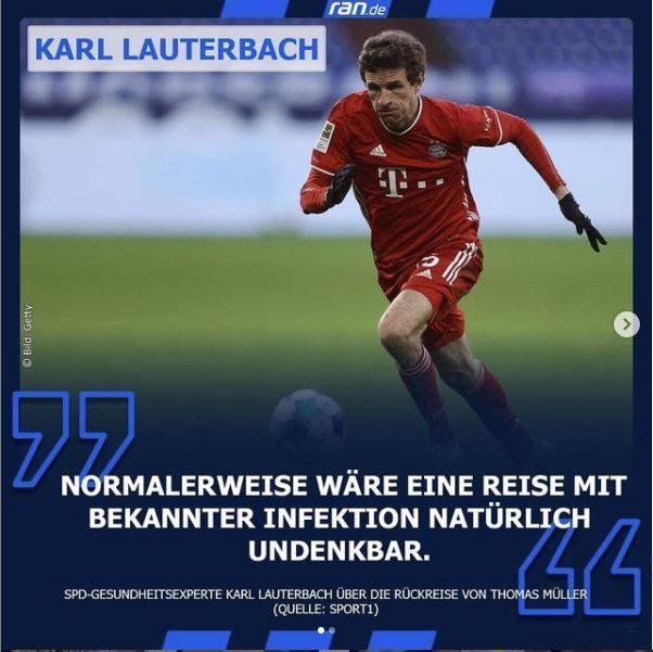 Link in Bio - Lauterbach über Fußball