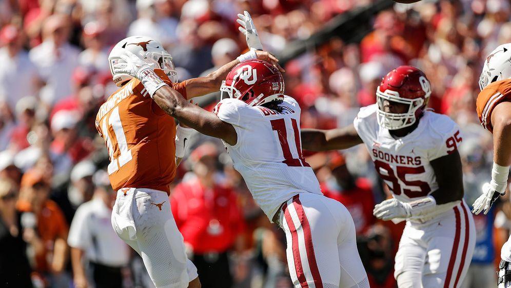 Die Defense der Oklahoma Sonners dreht in der zweiten Halbzeit auf - Bildquelle: Getty Images