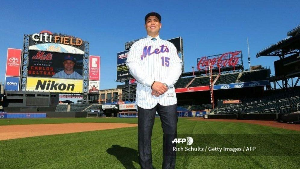 Carlos Beltran ist nicht mehr Manager der New York Mets. - Bildquelle: SID