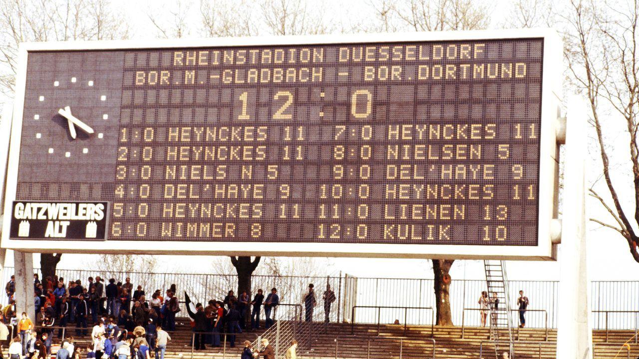 Deutschland: Borussia verpasst trotz Rekordsieg die Meisterschaft - Bildquelle: imago images/Thomas Zimmermann