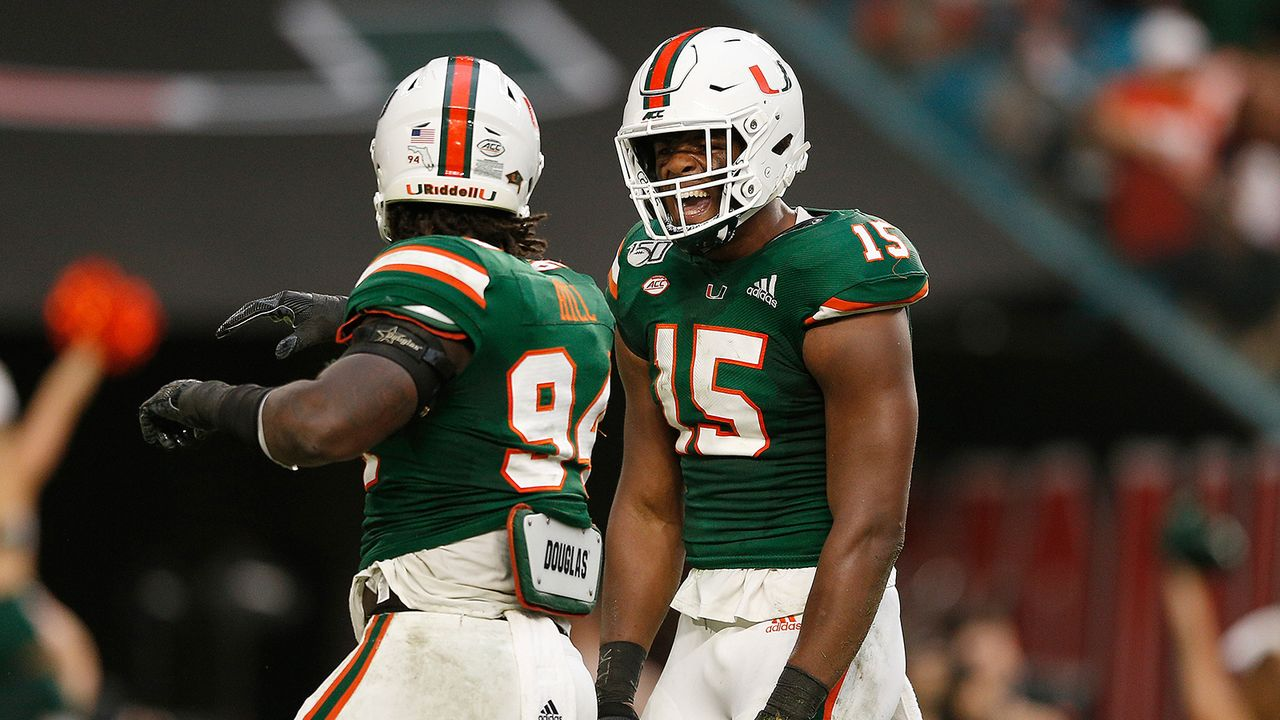 Gregory Rousseau, Defensive End, Miami - Bildquelle: Getty Images