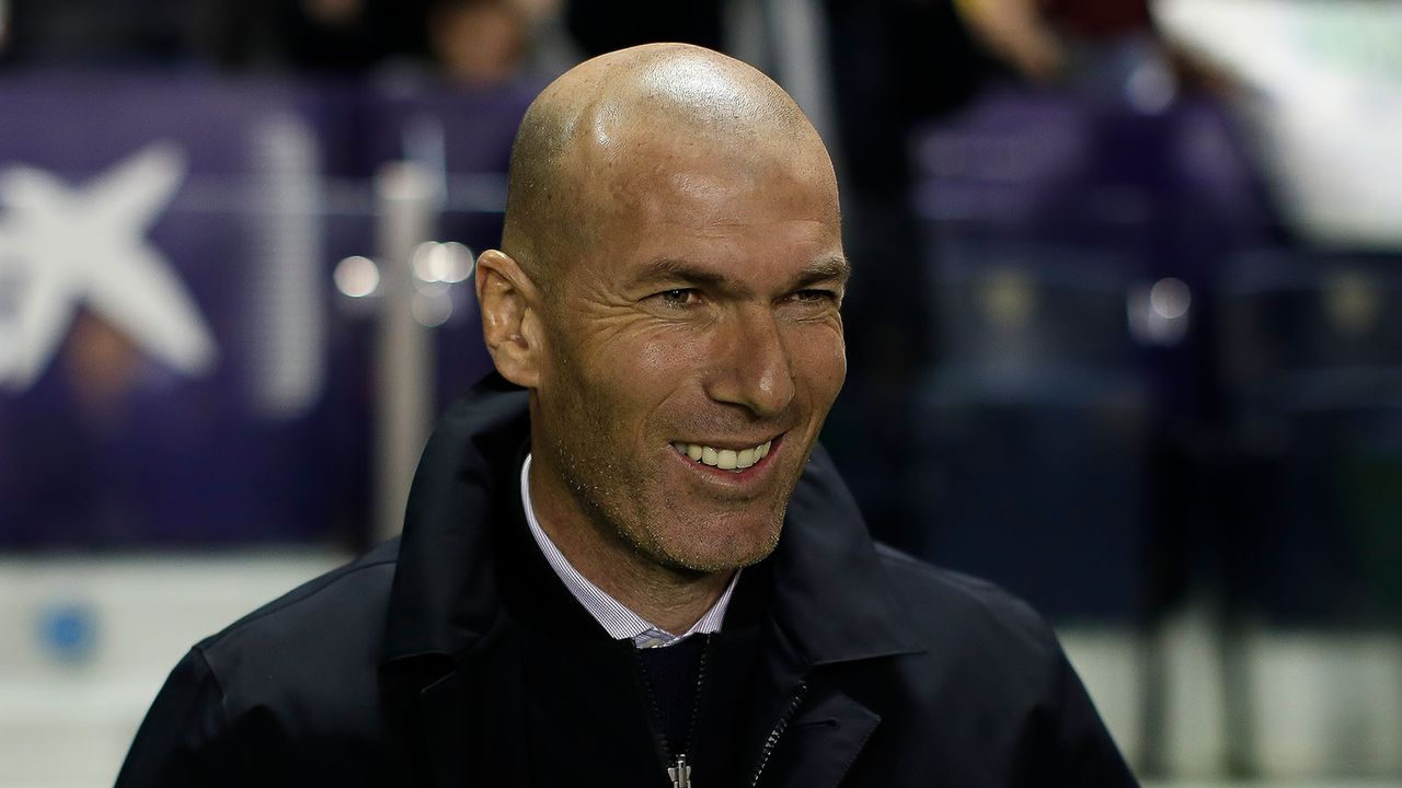 Zinedine Zidane (Real Madrid) - Bildquelle: 2020 Getty Images