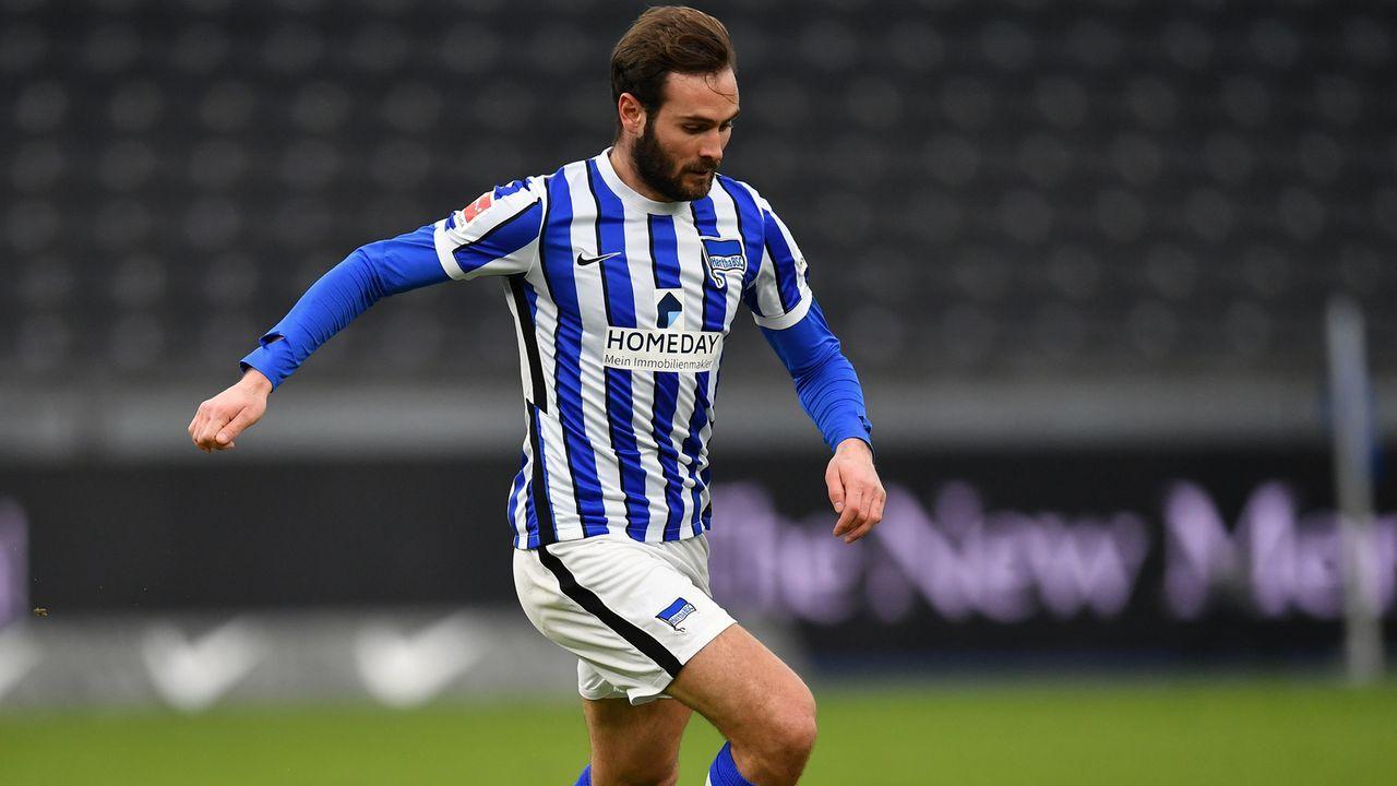 Mittelfeld: Lucas Tousart (Hertha BSC) - Bildquelle: 2021 Getty Images