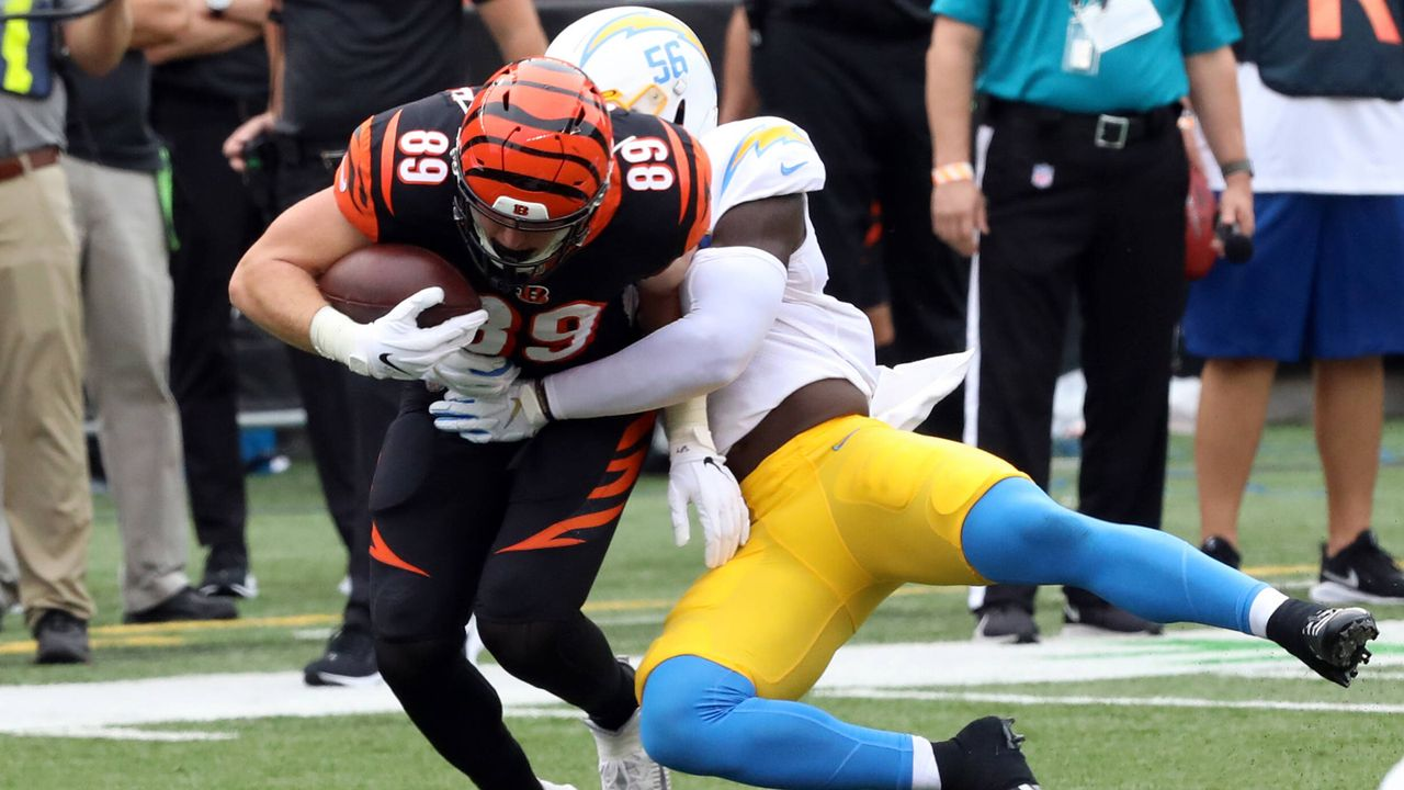 Kenneth Murray (Linebacker, Los Angeles Chargers) - Bildquelle: imago images/UPI Photo