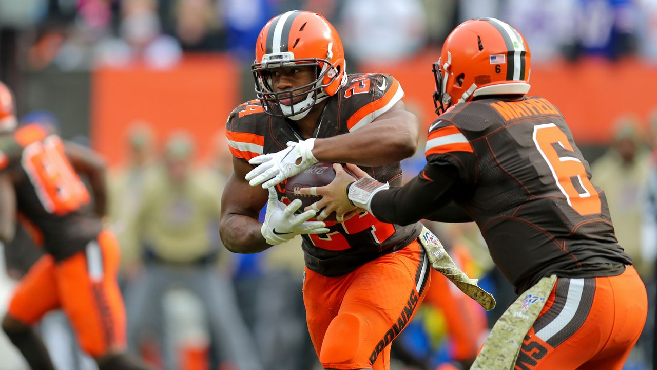 Rushing Offense: Cleveland Browns  - Bildquelle: imago images/Icon SMI