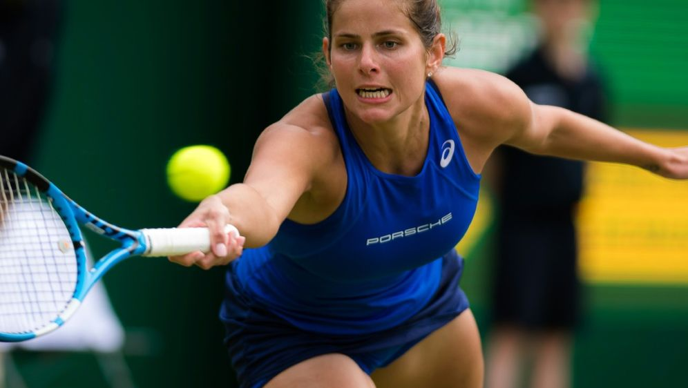 Julia Görges unterlag im Finale Jelena Ostapenko - Bildquelle: PIXATHLONPIXATHLONSID