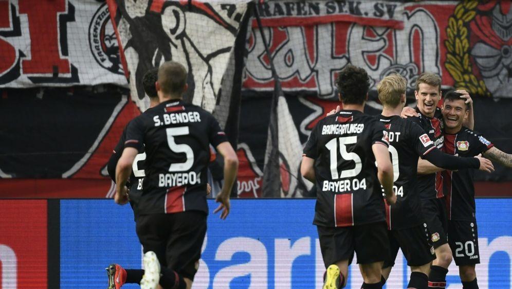 Leverkusen egalisierte einen Bundesliga-Rekord - Bildquelle: AFPSIDINA FASSBENDER