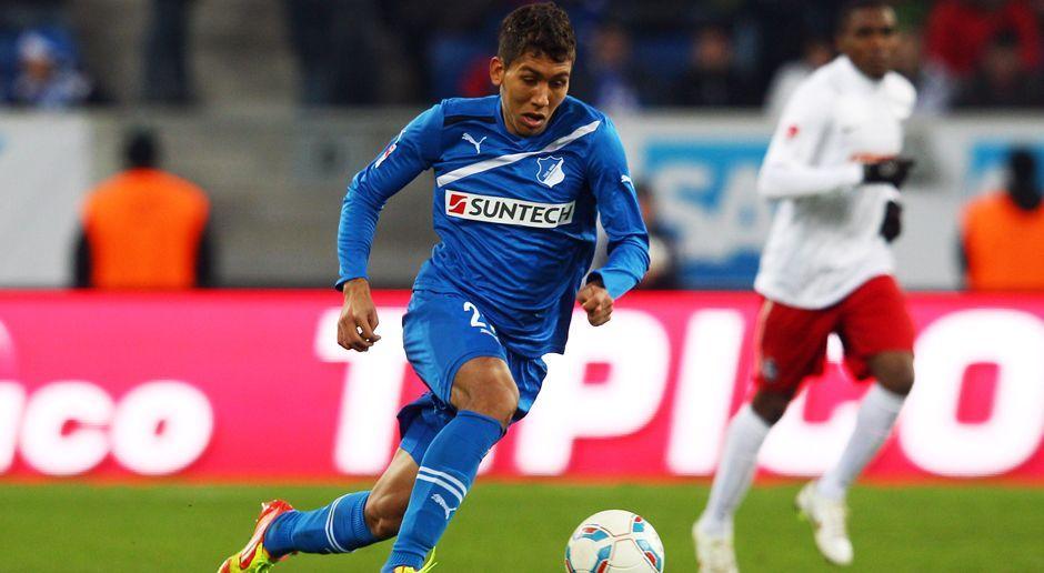 2011 - Roberto Firmino zur TSG 1899 Hoffenheim (4 Mio.) - Bildquelle: 2011 Getty Images